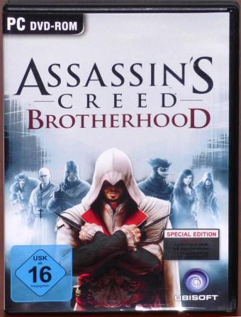 Assassin's Creed Brotherhood - Du bist nicht allein Special Edition inkl. 2 Bonusmissionen PC DVD-ROM Ubisoft 2011