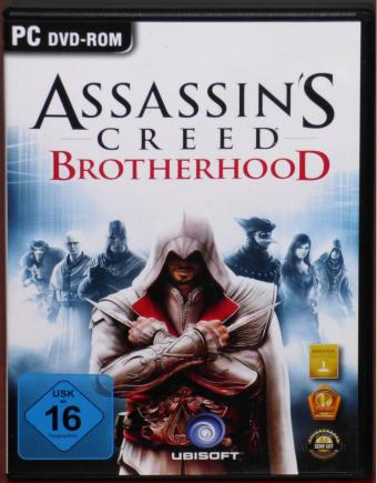 Assassin's Creed Brotherhood PC DVD Ubisoft 2011