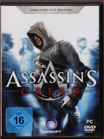 Assassin's Creed Directors Cut Edition - Erlebe die Macht der Assassinen PC DVD Ubisoft 2008