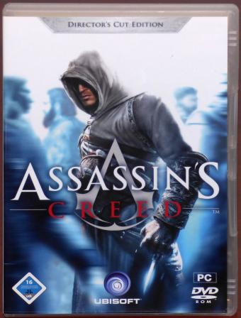 Assassin's Creed Directors Cut Edition PC DVD-ROM Ubisoft 2008