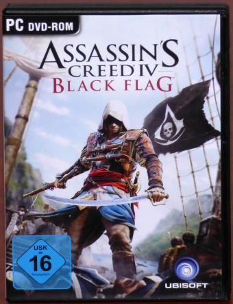 Assassin's Creed IV Black Flag - Verachte die Ordnung PC DVD Ubisoft 2013