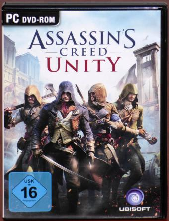 Assassin's Creed Unity - Vereint Euch - Paris 1789 PC 5x DVDs Ubisoft 2014