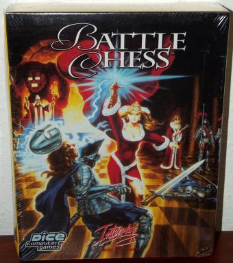 Battle Chess - Interplay / Dice Computer Games Neu & OVP 1993
