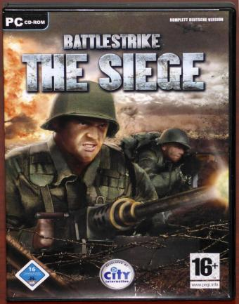 Battlestrike The Siege PC CD-ROM City Interactive/dtp AG 2005