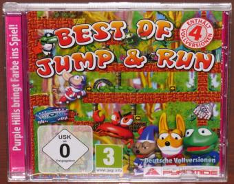 Best of Jump & Run 4 Deutsche Vollversionen Sky Taxi, Jumpin Jack, Turtix, Magus PC CD-ROM Purple Hills/SAD GmbH 2010