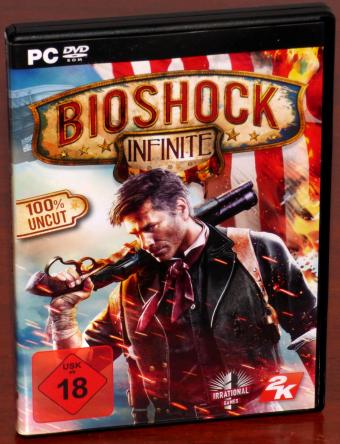 Bioshock Infinite 3x PC DVD-ROM 100% Uncut, USK 18, Irrational Games 2K/Take Two Interactive 2014