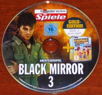 Black Mirror 3 und Family Vacation California DVD CBS 10/2016