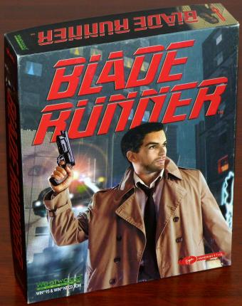 Blade Runner - Westwood Studios/Virgin Interactive 4CDs OVP 1997