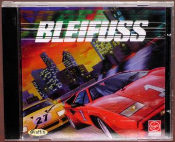 Bleifuss PC CD-ROM Graffiti/Virgin Interactive Entertainment 1995