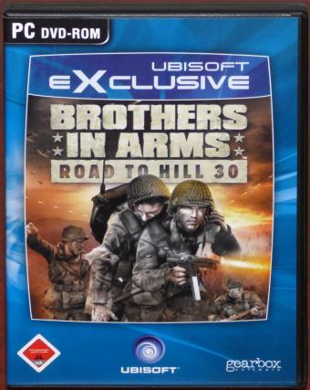 Brothers in Arms - Road to Hill 30 PC DVD Gearbox/UbiSoft eXclusive 2005
