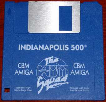 CBM Amiga - Indianapolis 500 - Spiele Diskette Pypyrus Design Group/Electronic Arts Ltd. 1989