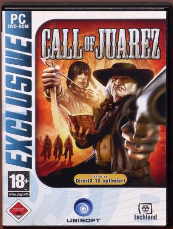 Call of Juarez Exclusive PC DVD Techland/Ubisoft 2006
