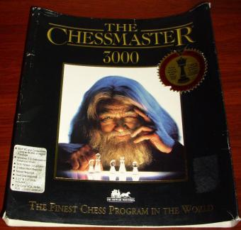Chessmaster 3000 - Mindscape Disketten Version 1991