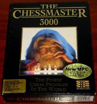 Chessmaster 3000 - New MPC Version Mindscape CD 1991