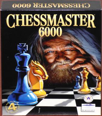 Chessmaster 6000 PC CD-ROMs Bigbox OVP The Learning Company Inc./Mindscape 1998