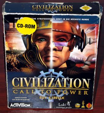 Civilization Call to Power für LINUX von Loki / ActiVision