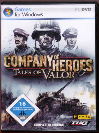 Company of Heroes - Tales of Valor PC DVD-ROM Relic Entertainment/THQ Inc. 2009
