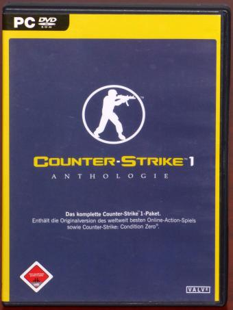 Counter Strike 1 - Anthologie inkl. Condition Zero PC DVD-ROM Valve 2005