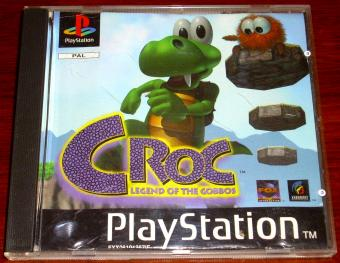Croc - Legend of Gobbos - PlayStation Spiel 1997