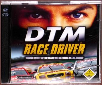 DTM Race Driver Directors Cut 2x PC CD-ROMs Codemasters 2003