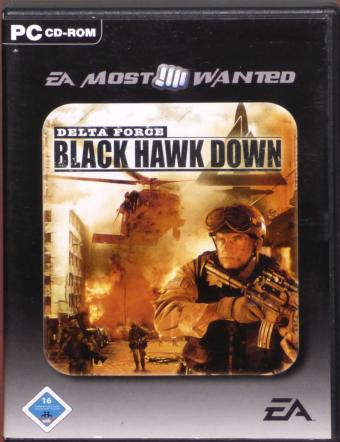 Delta Force - Black Hawk Down PC CD-ROM EA Most Wanted NovaLogic/Electronic Arts 2003