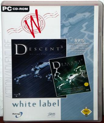 Descent 3 Mercenary Expansion-Pack Parallax Software/Outrage/Interplay/Virgin Interactive 1999