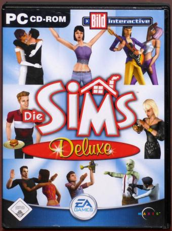 Die SIMS Deluxe Edition PC 2x CD-ROMs Maxis/Electronic Arts 2002