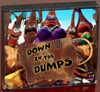Down in the Dumps 3 CD-ROMs PC und Mac Comic Adventure ab 486er Catalogue-No: 813-5077 HaiKu Studios/Philips Interactive Media/Bomico 1996