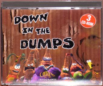 Down in the Dumps 3x PC CD-ROMs Infogrames 1999