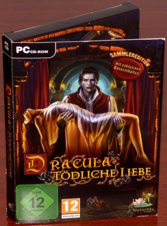 Dracula - Tödliche Liebe Sammleredition - NEU/OVP, Waterlily Games/Frogwares/dtp entertainment AG 2011