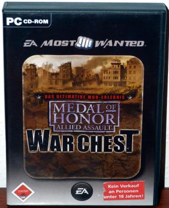 Medal of Honor - Allied Assault War Chest - Electronic Arts 4CDs 2005