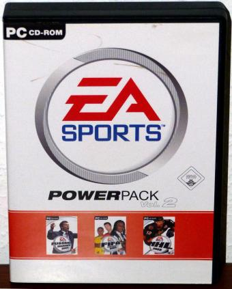 EA Sports PowerPack Vol. 2 - Fifa & NHL 2003 - Electronic Arts 5CDs