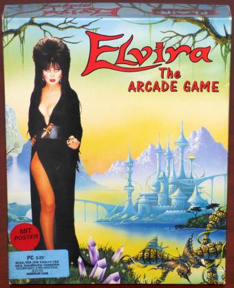 Elvira - The Arcade Game PC 5,25