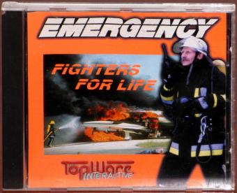 Emergency Fighters for Life PC CD-ROM Win95 TopWare Interactive 1998
