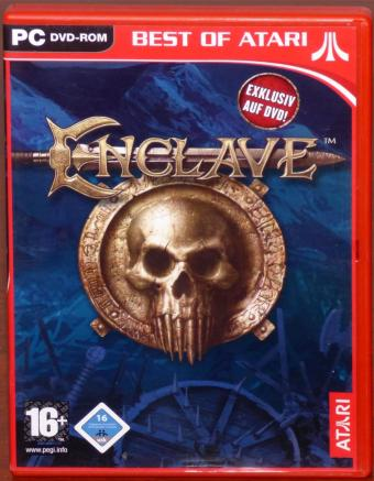 Enclave PC DVD Starbreeze/Swing Entertainment Media AG/ATARI 2003