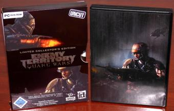 Quake Wars Enemy Territory - Uncut Limited Collectors Edition inklusive Bonus-DVD und 10 exklusive Artwork Karten id Software/splash damage/ActiVision 2007