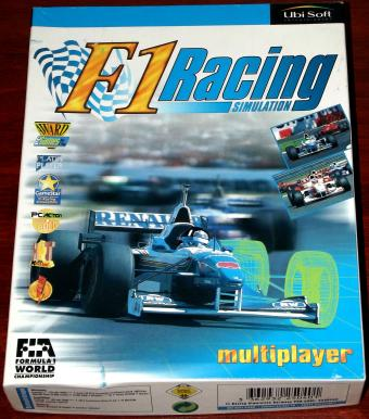 F1 Racing Simulation FIA 1996 - UbiSoft