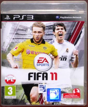 FIFA 11 (PS3) PlayStation 3 (PL) Polska Version Electronic Arts/Sony
