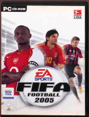 FIFA Football 2005 PC 2x CD-ROMs EA Sports Bundesliga Electronic Arts