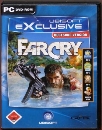 FarCry PC DVD Deutsche Version Crytek/Ubisoft 2004