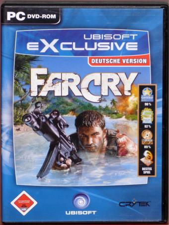 FarCry deutsche Version PC DVD Crytek/Ubisoft/Rondomedia 2004