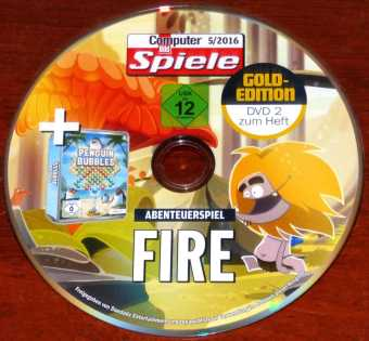 Fire Abenteuerspiel & Penguin Bubbles Daedalic Entertainment CBS 5/2016