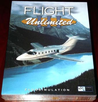 Flight Unlimited III von Looking Glass Studios / Electronic Arts (FU3) 1999 OVP & NEU