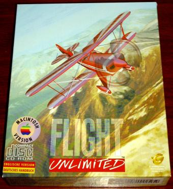 Flight Unlimited - Macintosh Version (MAC FU1) Looking Glass Technologies 1995