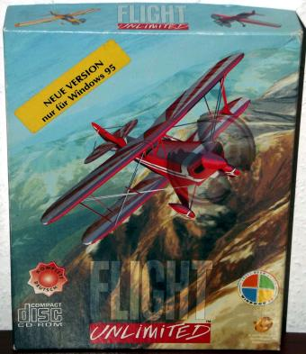 Flight Unlimited komplett in Deutsch für Windows 95