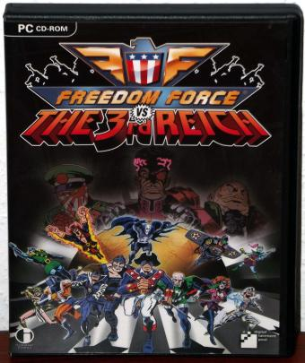 Freedom Force vs The 3rd Reich - Irrational Games/dtp Entertainment/focus Home Interactive 2005