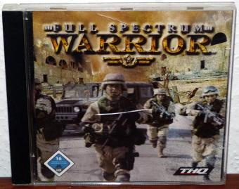 Full Spectrum Warrior - Pandemic Studios/THQ 3CDs 2004