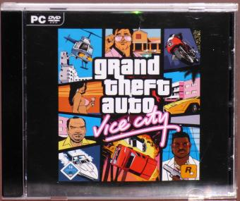 GTA Grand Theft Auto - Vice City - Willkommen in den 80ern PC DVD-ROM Rockstar Games 2008