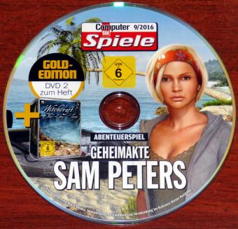 Geheimakte Sam Peters & Witchcraft The Lotus Elixir PC DVD CBS 9/2016