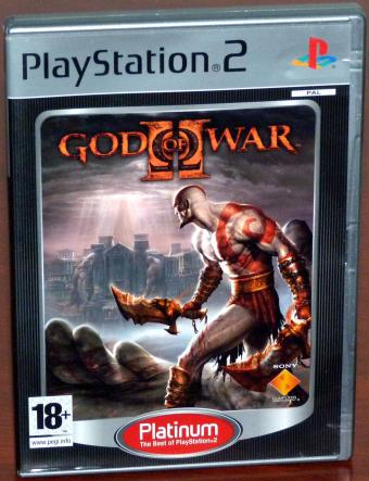 God of War II - PlayStation 2 Platinum Sony 2008
